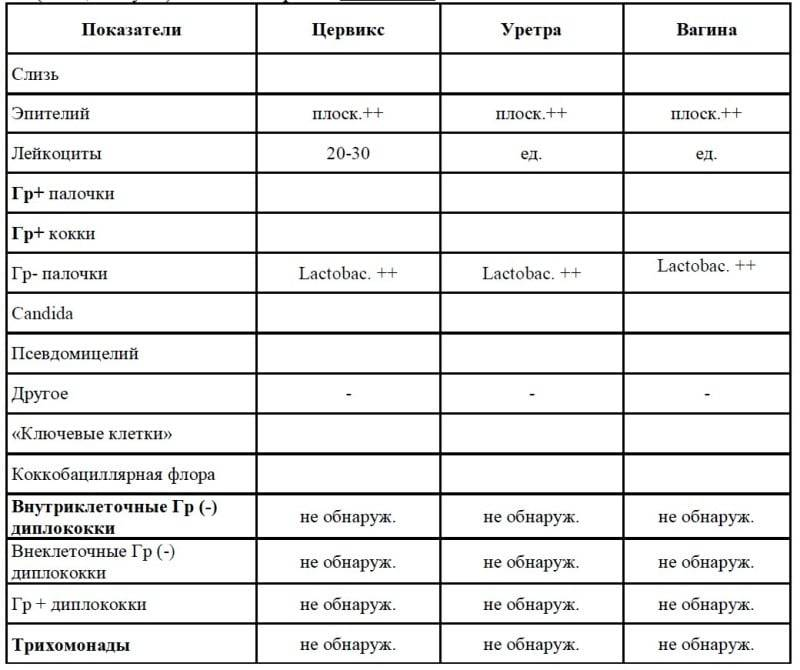 Расшифровка анализа на гонорею и как проявляется у мужчин и женщин