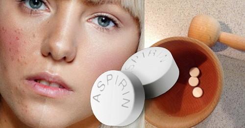 Маски от прыщей из аспирина