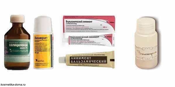 Как выбрать хороший крем от прыщей на лице в аптеке