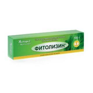 Фитолизин при аденоме простаты
