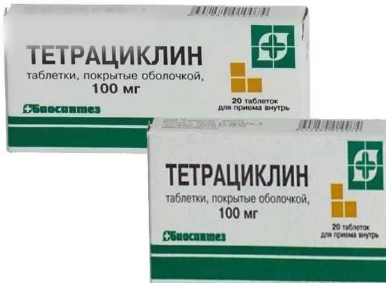 Инструкция по применению таблеток тетрациклин