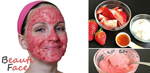 Маска из клубники для лица: избавьтесь от морщин