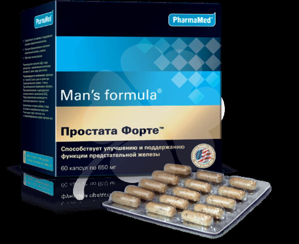 Инструкция по применению капсул простата форте