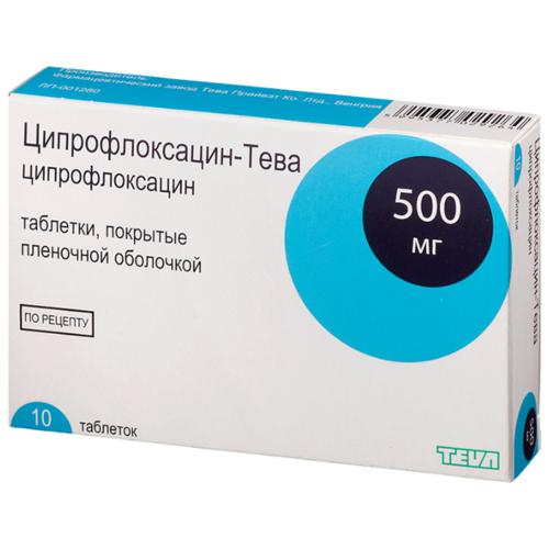 Лечение простатита ципрофлоксацином