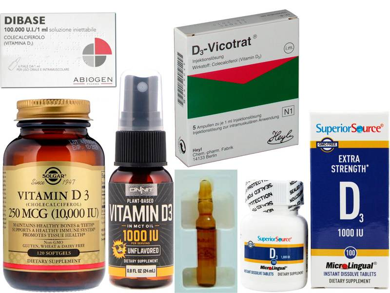 Витамин d3 - зачем нужен, как принимать, где содержится?