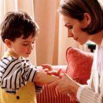 оказание первой помощи ребенку при ожогах
