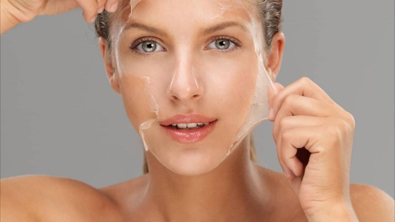 Очищающая маска пленка для лица в домашних условиях