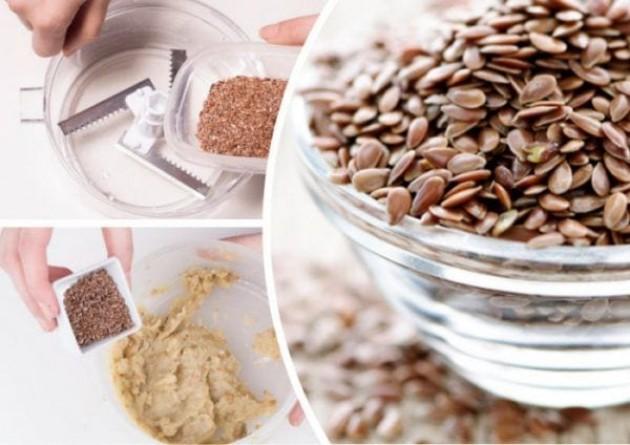 Как семена льна воздействуют на дерму?