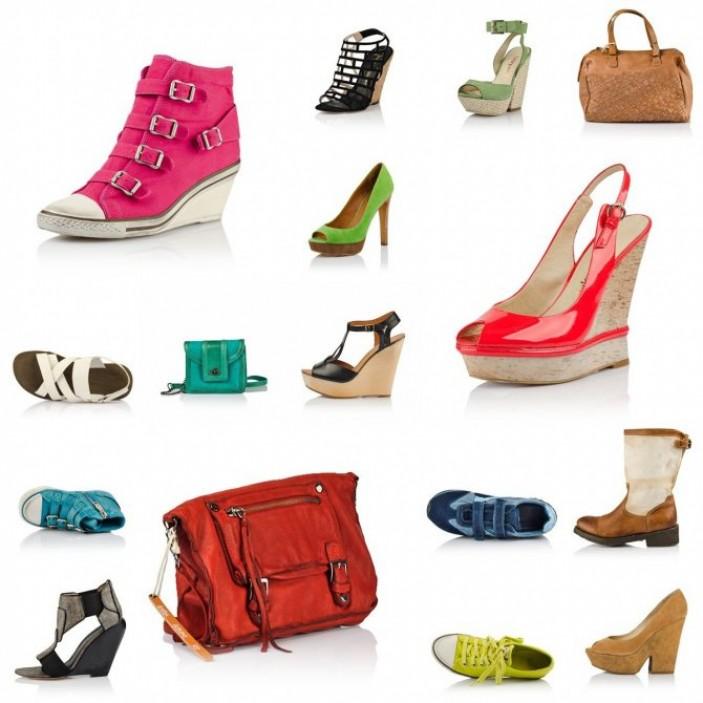 Выбор обуви и аксессуаров