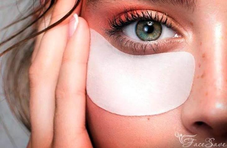 Натуральные маски против гусиных лапок