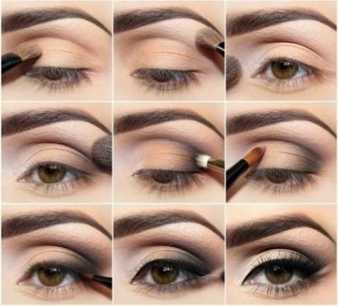 Как правильно делать макияж для карих глаз в зависимости от их типа