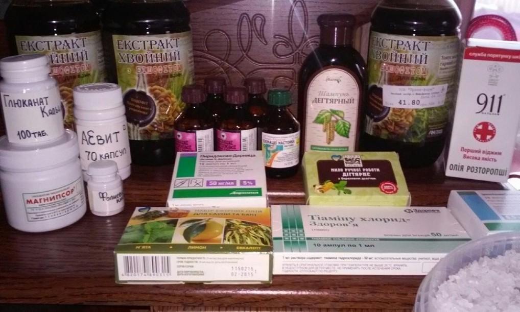 Средства и препараты для лечения