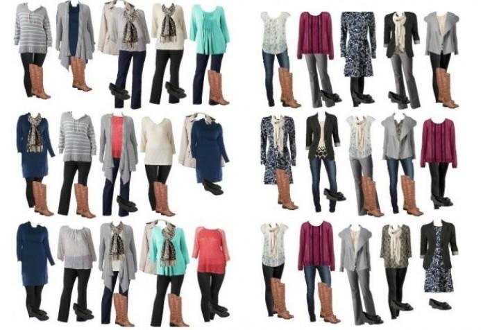 Капсульный гардероб для цветотипа зима