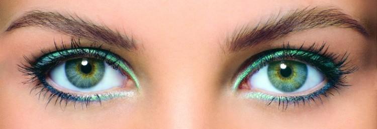 Палитра макияжа для зеленых глаз