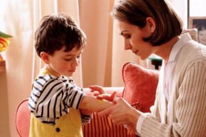 Видоизменения родинок у детей