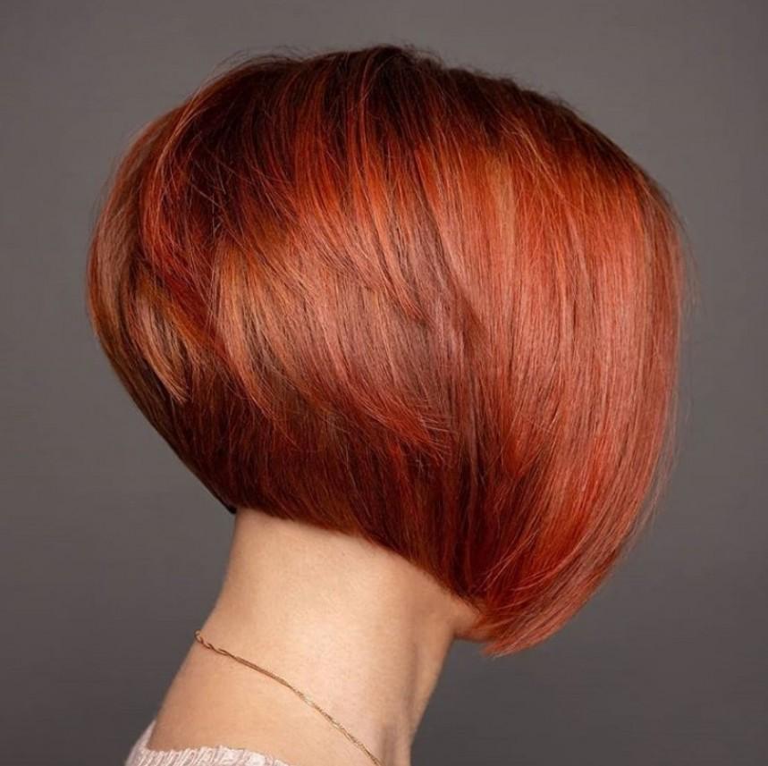 Трендовые стрижки на среднюю длину волос