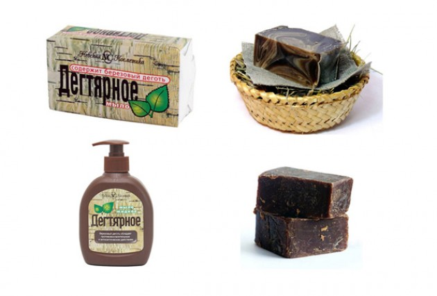 Чем полезно дегтярное мыло?
