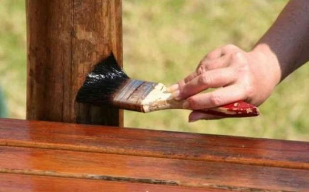 Виды обработки древесины купоросом