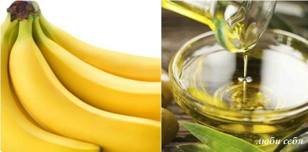 Маска для сухой кожи лица с бананом и молоком