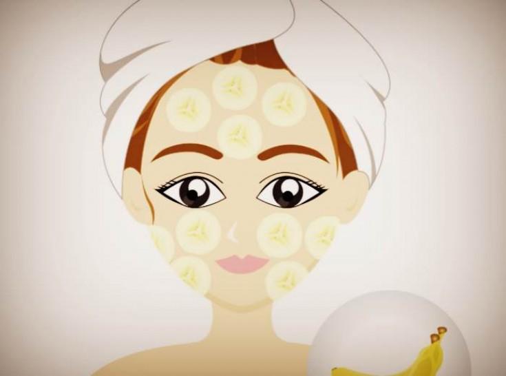 Банановая маска при куперозе