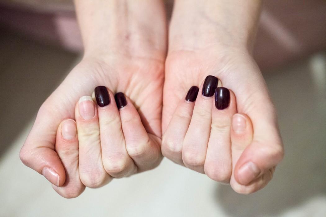 Ногти разной длины