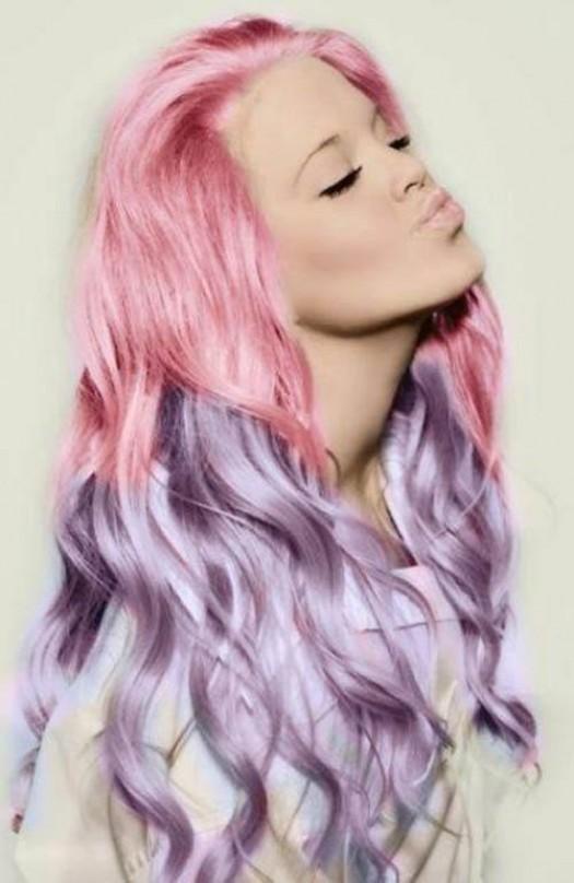 Модный окрас волос 2021: градиент