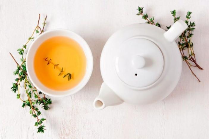 Травяные чаи для блестящих волос