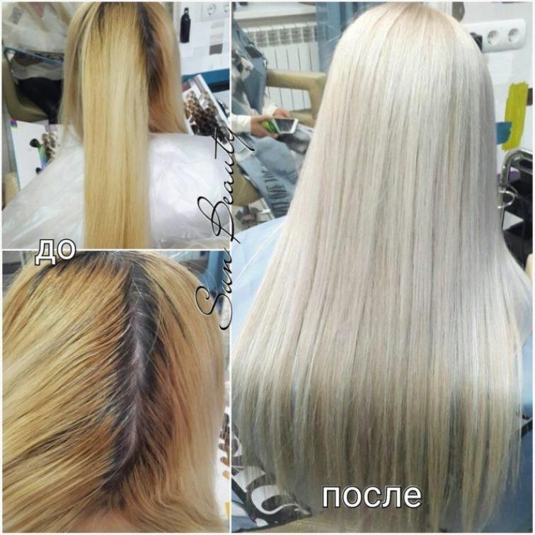 Особенности ухода за волосами после мелирования