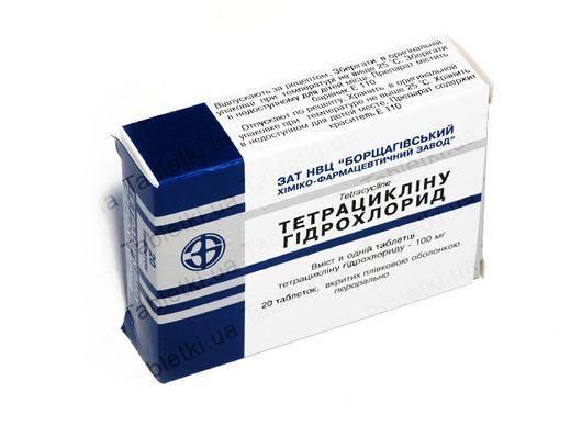 От чего помогают таблетки тетрациклин