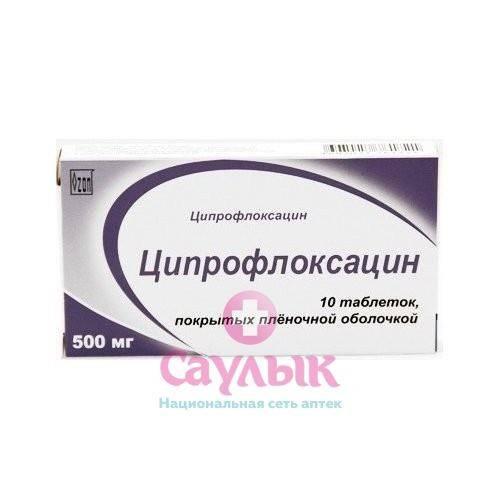 Ципрофлоксацин при простатите: отзывы мужчин, инструкция по применению