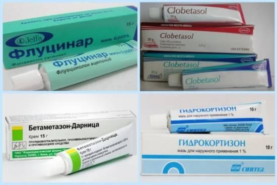 Негормональные мази от псориаза: список эффективных препаратов