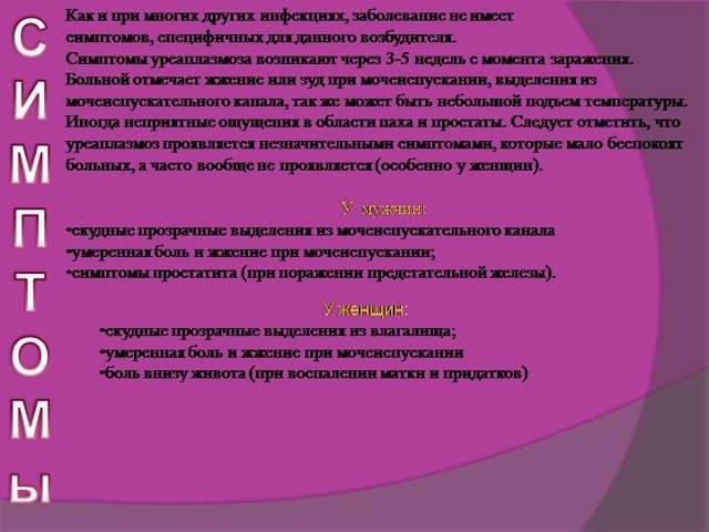 Все про уреаплазму уреалитикум (ureaplasma urealyticum)