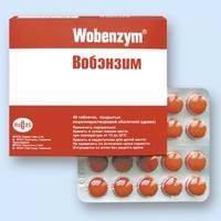 Вобэнзим: показания к применению, состав, свойства