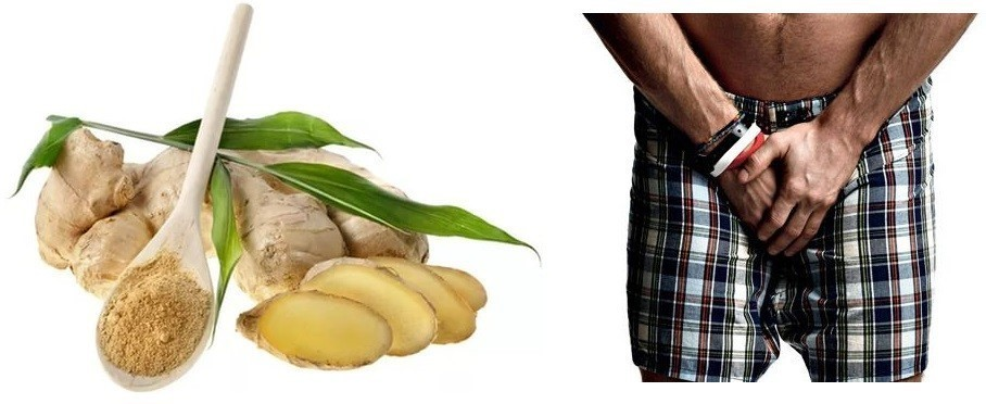 Польза имбиря для потенции мужчин: рецепты