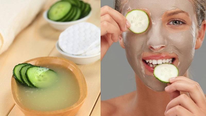 Огурец для лица – лучшие рецепты