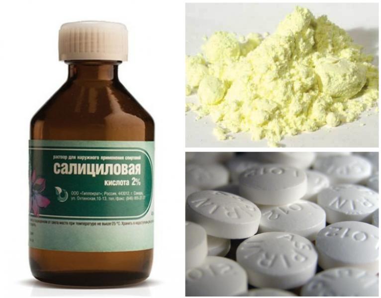 Применение салициловой кислоты от прыщей, инструкция. как пользоваться салициловой кислотой от прыщей в домашних условиях — рецепты