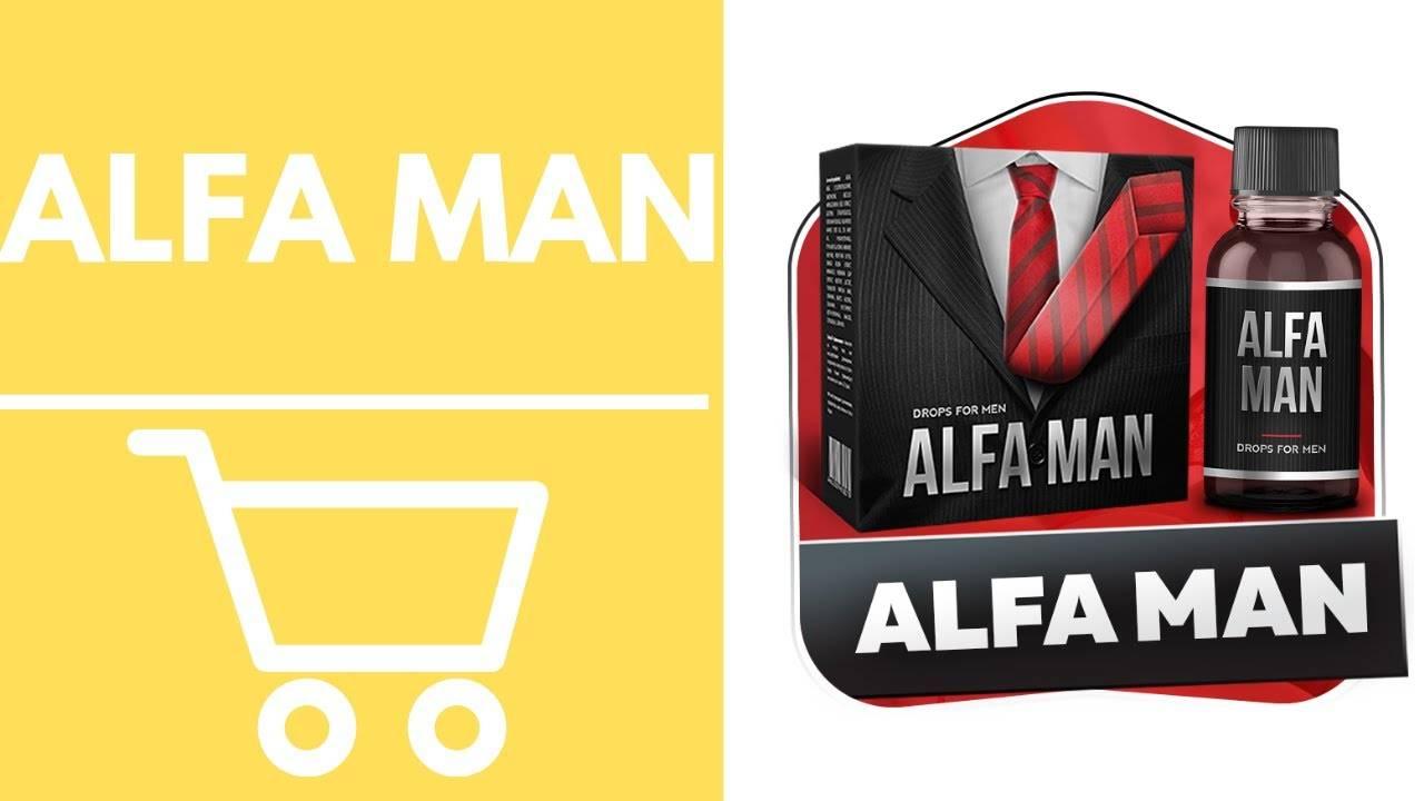 Отзывы об alfa man — капли для потенции