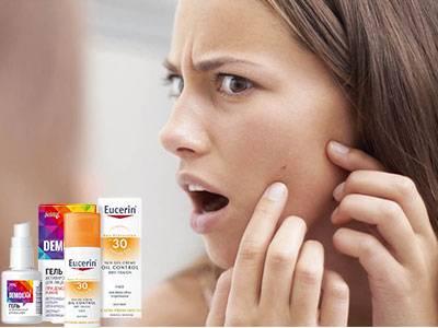 Солнцезащитный крем для проблемной кожи
