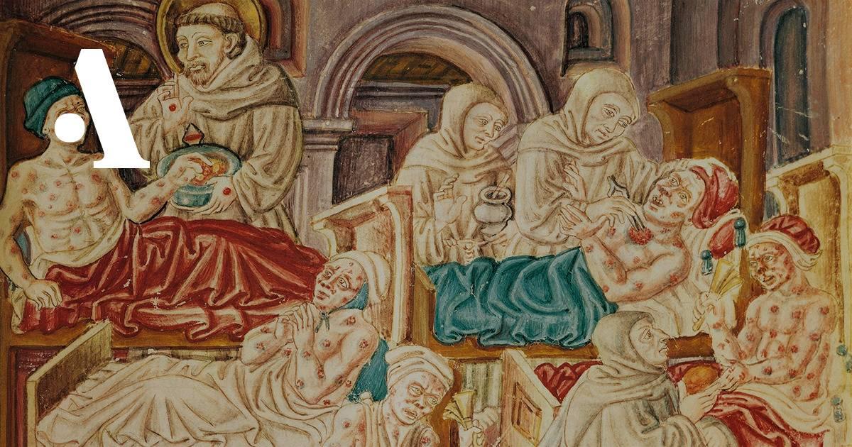 Ужасные болезни и эпидемии в средние века