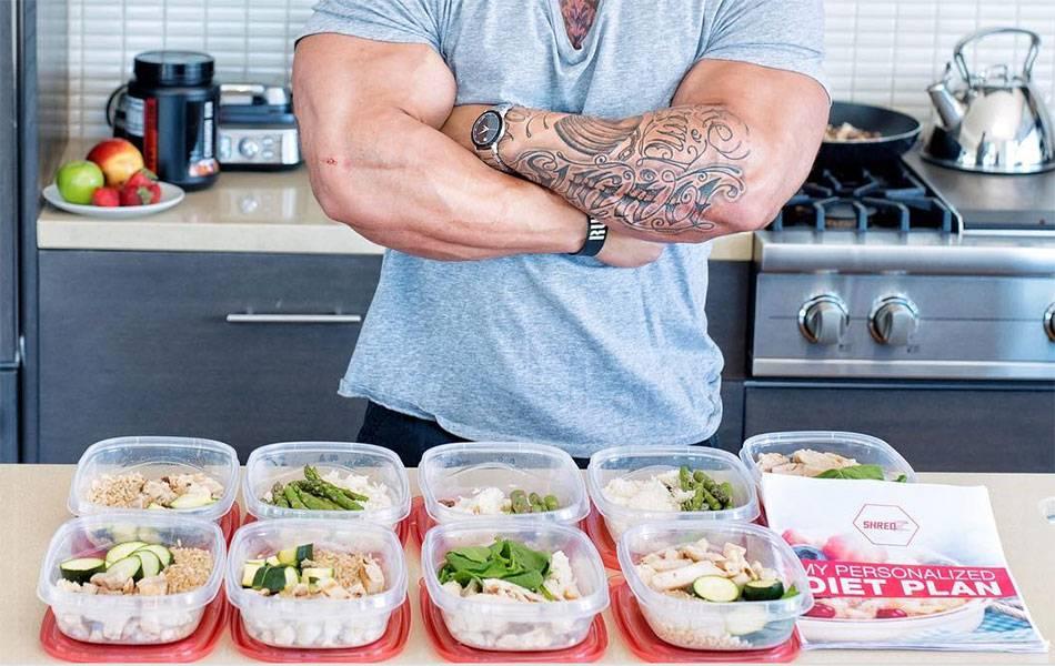 Особенности мужских диет для похудения