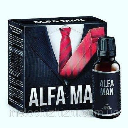 Капли для повышения потенции — alfa man