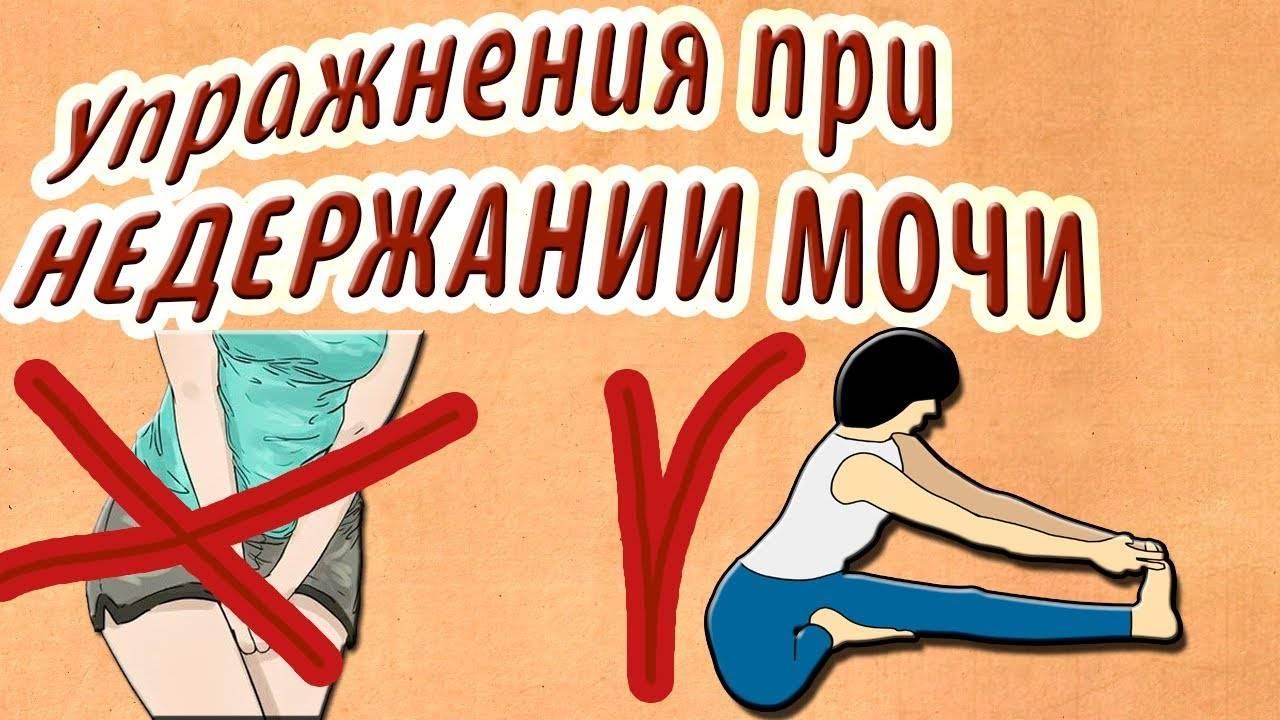 Упражнения кегеля при недержании мочи у женщин