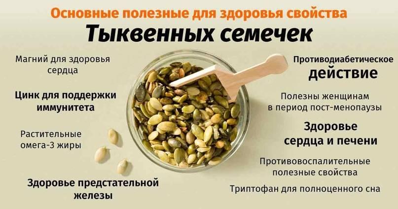 Польза тыквенных семечек для мужчин — обзор основных полезных свойств