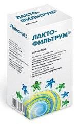 Лактофильтрум - инструкция по применению, аналоги отзывы, цена