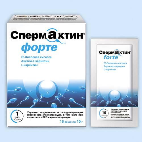 Спермактив — витамины, состав, применение, аналоги