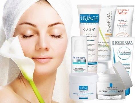 Лечебная косметика для проблемной кожи лица в аптеке: состав, применение, производители