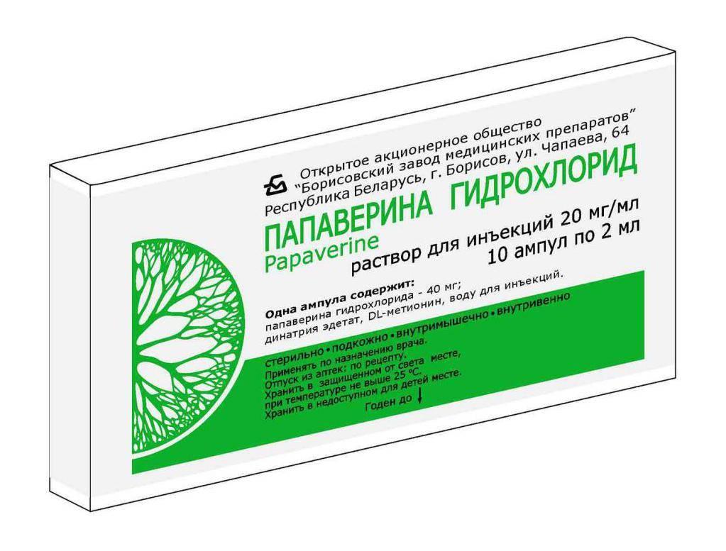 В чем разница между папаверином и папаверина гидрохлоридом?