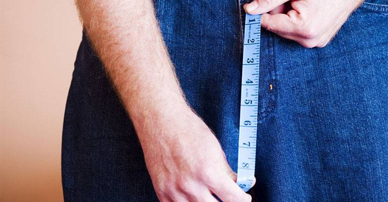 Золотая середина — каков средний размер мужского достоинства