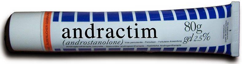 Использование андрактим геля в домашних условиях. подробная инструкция и отзывы