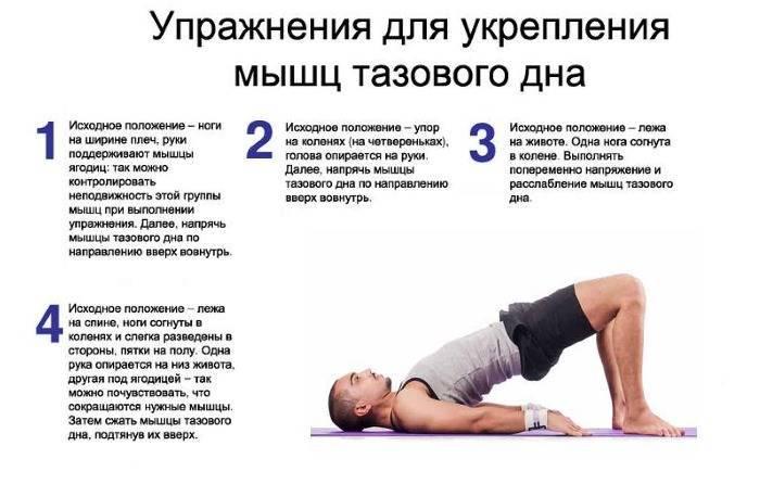 Упражнения кегеля для начинающих: для укрепления мышц малого таза, при недержании мочи, при геморрое, для женщин и мужчин.